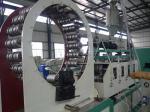 HDPE PE steel reinforced winding pipe making machine
