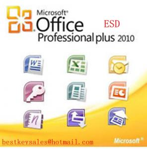 Quality Microsoft Office 2010 - Professional Plus 2PC, FPP, ESD, NEU, original online for sale