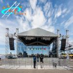 Outdoor Stage Lighting Aluminum Roof Truss For Line Array