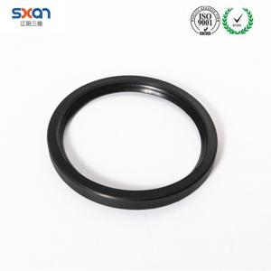 China NBR Material rubber seals  of J Type No Skeleton Hydraulic Cylinder Rubber oil Seal on sale