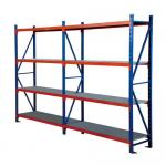 Four Layers Wide Span Shelving Unit For School /  Library Easy Assembled