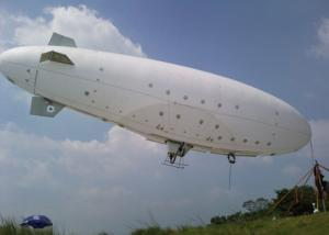 China Giant Inflatable Airplane Helium Balloon Helium Blimp / rc Blimp Outdoor For Advertising on sale