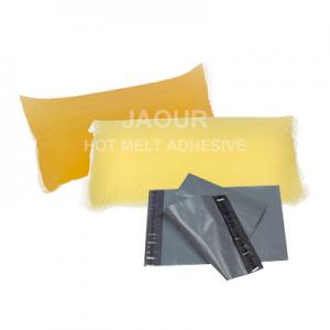 China Soft Strong Tack Hot Melt Glue Adhesive For Courier Bags, Parcel Bags on sale