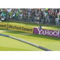 Banner Stadium Sport Perimeter Led Display P8 For Football / Basketball Court