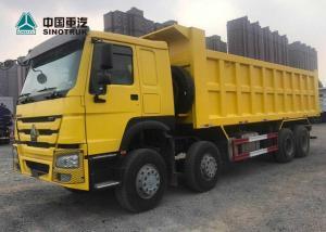 China 8 X 4 Euro2 371hp Heavy Equipment Dump Truck Hyva Cylinder Lifting System on sale