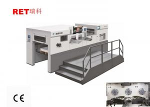 China High Speed Stainless Hot Foil Stamping Machine YW-105SE For Paper / Cardboard on sale