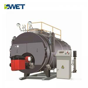 4 Ton Low Pressure Steam Boiler For Casting Industry , WNS