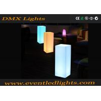 Color Changing Remote Control Led Pillar Column Light Garden Lighting