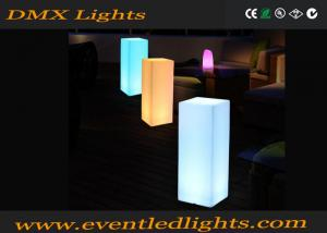 China Color Changing Remote Control Led Pillar Column Light Garden Lighting on sale