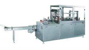 China Tear Tape Type Pharmaceutical Packaging Machine Cellophane Wrapping Machine for carton boxes on sale