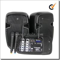 China 200W Power Class D Amplifier Active Protable PA System (PPS-01200MTW) on sale