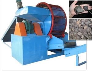 China Planta de reciclaje de la máquina de la trituradora del neumático de Protable para los productos de goma on sale