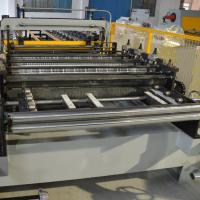 China Coated Roof Panel Roll Forming Machine Interlock Roof Panel Making Machine on sale
