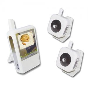 China HD 2.4G wireless baby monitor rechargeable with music player function on sale