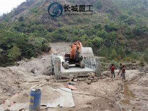 China Easy Repair Truss Beam Bridge , Steel Beam Bridge Convenient Transportation on sale