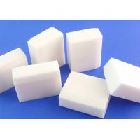 China High Temperature Resistance 99 Alumina Ceramic Tile / Block / Brick Machinable on sale