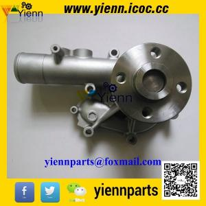 China KOMATSU WB93R-2 backhoe loader engine parts Yanmar S4D106 4TNV106 4TNE106 Water Pump 123900-42000 123907-42000 on sale
