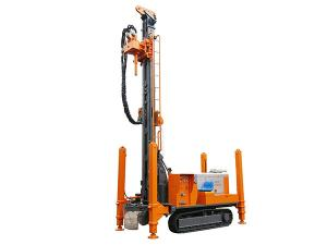 China ZGSJ-450 300m DTH WATER WELL DRILL RIG  machine portable hydraulic water well drilling rigs deep drill rig truck on sale