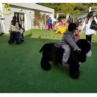 Hansel 2018 zoo animals children park products walking plush animal ride