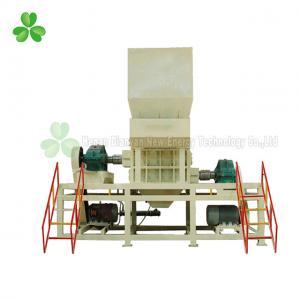 China Wood Double Shaft Shredder Machine Big Torque Low Noise 37×2 KW Power on sale