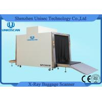1.5*1.5m Tunnel Big Size Cargo X - ray Scanning System with 500 Kg Conveyor Load