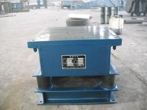 China Put Cement Vibrating Table Powder Processing Machine For Concrete Moulds Machine on sale