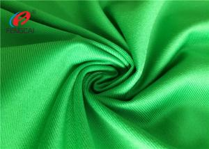 China Waterproof Green Polyester Brushed Tricot Fabric Lining Fabric For Garment on sale