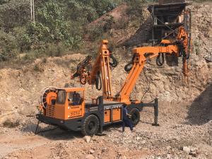 China KGM1050QZ Arch Rib Lifting Machine Robotic Steel Support Machine Lifting Equipment on sale