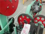 Automatic Chain Link Fence Machine , 1.8mm - 2.2mm Diameter Barbed Wire Making Machine