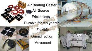 China Air bearing and Casters specification and instruction on sale