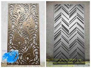 China 2.5mm thickness tree design metal aluminum veneer sheet facade cladding panel for curtain wall facade decoration on sale