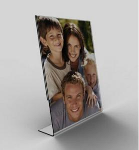 China Contemporary Funky Clear Acrylic Photo Frame Family Picture Frames on sale