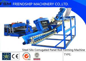 China Steel Silo Corrugated Panel Roll Forming Machine For Grain Product on sale