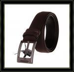 Stigmatisez la ceinture «Fuliter» boucle noire véritable de Pin de casaul des ceintures en cuir de 240 hommes de vache