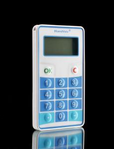 China ABS plastic Interactive Voting Handsets functional specification V1.0 for public media on sale