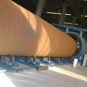 China Outer Wall Type Auto Pipe Blasting Machine For Steel Pipe And Cylinder on sale