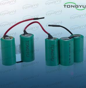 China 1200mAh SC Size Nimh Rechargeable Battery Ni-MH 6V For Airsoft on sale
