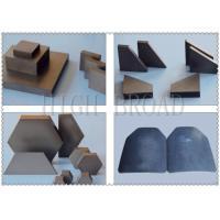 SIC ceramic bulletproof plates Armor Ceramic / OEM Silicon Carbide Armor Ceramic