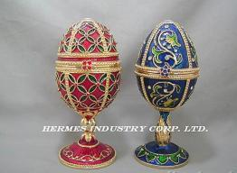 China Egg Shaped Jewelry (Music) Box on sale