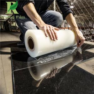 China 0.03-0.2mm Clear Transparent Anti-scratch Marble Protective Film on sale