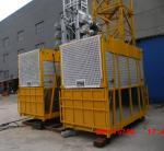 Grua 2,5 x 1,3 x 2.5m do elevador da grua da construção de VFD/material de construção