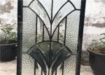 IGCC IGMA Decorative Bathroom Window Glass Clear Bevel Tempered Glass