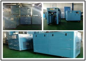 China 110KW Stationary Energy Saving Air Compressor , Screw Type Air Compressor on sale