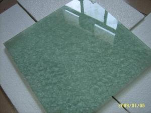 China Custom Strengthened Flat Toughened Safety Glass ,19mm Green Tempered Glass on sale