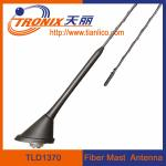 China roof or rear deck mount fiber mast car antenna/ passive car am fm radio antenna TLD1370 wholesale