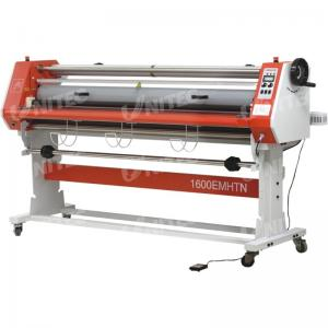 China Glue - Proof Paper Roll Lamination Machine , Electric Cold Roll Laminating Machine LD-1600EMHTN on sale
