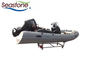 China 4 Stroke Inflatable Sport Boats , Rubber Dinghy Boat Suzuki Outboard Motor on sale