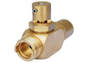 China Brushed Polished Small Brass Valve Brass Precision Turned Components Durable on sale
