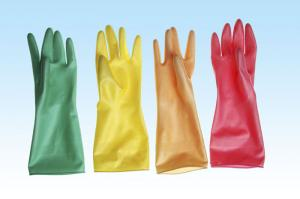 China Latex gloves for household, latex household gloves on sale
