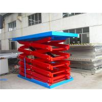 China Hydraulic Motor Driving Rough Terrain Scissor Lift 12m Platform Height on sale